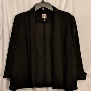 Anne Klein Open Blazer Suit Jacket